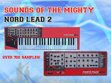 Sounds of the NORD LEAD 2 - Sample CD - Wav & Kontakt