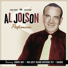 Performance 1932 - 1949 by Al Jolson (CD, Aug-2010, Fuel 2000)