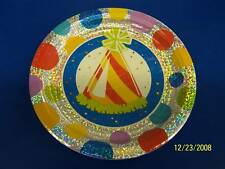 "Polka Dot Party Birthday 7"" Prismatic Dessert Plates"