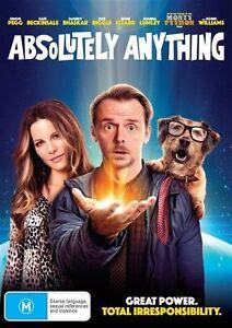 Absolutely Anything (DVD, 2016) Australian Stock