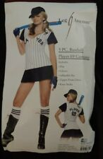Leg Avenue Baseball Player 69 Halloween Costume Size M/L Sexy Knee High Hat Bat
