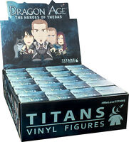 "DRAGON AGE - Heroes of Thedas 3"" Blind Box Titans Vinyl Figurines Display (20ct)"