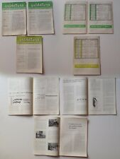 LA SALDATURA Quaderno Informazione Tecnica N.1 2 3 1959-1960 3 numeri