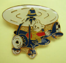 RUPERT POLICE CHARITY PIN BADGE  - HELICOPTER - ERROR/FAULT IN MANUFACTURE