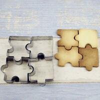 Eg _ 4PCS Puzzle Cookies Couteau Pâtisserie Biscuit Décoration Gâteau Moule