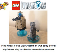 LEGO Dimensions Doctor Who Cyberman & Dalek Pack 71238 - Pack Fully Complete -