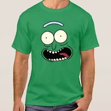 Rick and Morty Pickle Rick T-Shirt Men's Women's New Cotton Tee