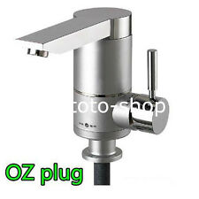 Instant Electric Water Heater Cold and Hot mixer Tap -Kitchen Sink Basin OZ Plug
