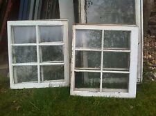 VTG 6 Pane Wooden  Window sash farm  Glass Pinterest DIY primitive frame Primiti