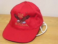 CAP FOE 2126 Fraternal Order Of Eagles THE DALLES OR NEW UNUSED VINTAGE CAP e9d744334968