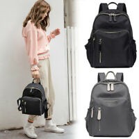 Anti-Theft Water Resistant Nylon Backpack Rucksack Daypack Travel Bag Purse