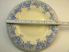"""Capucine by Le Comptoir De Famille 8.75"""" Plate Blue white floral discontinued"""