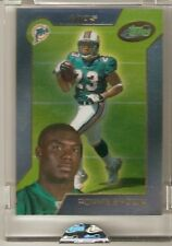 Ronnie Brown 2005 Etopps Rookie LOT # out 2000 In-Hand Encased Auburn DOLPHINS