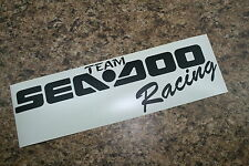 SEA DOO Decal  (2) Team SEA DOO Racing  Decal Trailer decal toy hauler decal