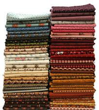 10 Fat Quarters - Civil War Historical 1800's Reproduction Cotton Fabric M228.01