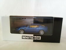 Aston Martin DB7 Zagato 2003 Bleu métallisé 1/43 WhiteBox. WB030.
