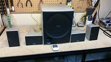 Home Theater! Sony SS-WP700 Passive Subwoofer with 4 speakers