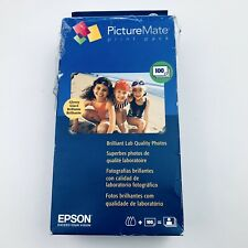 Genuine Epson PictureMate Print Pack - Ink Cartridge and 100 Sheets Photo Paper
