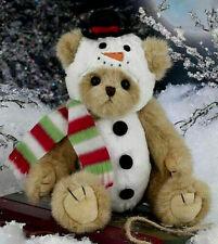 """10"""" Frost E. Bear*Bearington Bear*New*Nwt*Dressed as Snowman*Christmas*173201"""