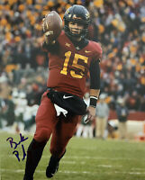 Brock Purdy Autographed Signed 8x10 Photo ( Iowa State Cyclones ) REPRINT