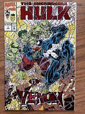 INCREDIBLE HULK VS VENOM: ROCKIN' THE TOWN #1. Marvel 1994