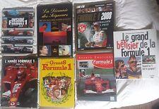 FORMULE 1 - Collection auto de 7 livres sur la Formule 1