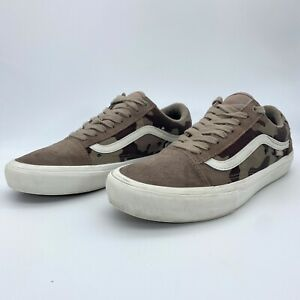 VANS Old Skool Pro Desert Camo VN0A453SSO9 Low Top Sneakers Men's Size 8 #721454