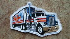 2 Stück Aufnäher LKW Truck Rodeo    Neu (Nr.898)