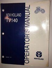 New Holland TV140 Operators Manual 86562957