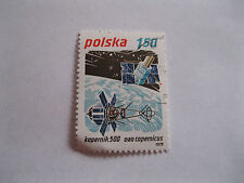 Space Used Polish Stamps