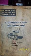 Cat D8 Dozer Parts Book