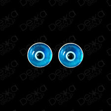 925 Sterling Silver Evil Eye Greek Mati Turkish Nazar Mini Stud Earrings