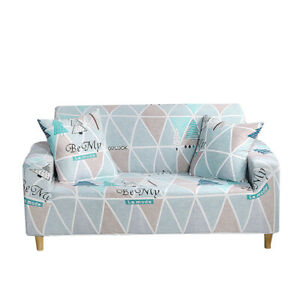 1/2/3/4 Seater Nordic Stretch Sofa Cover Couch Cover Elastic Slipcovers