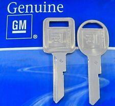 Genuine GM KEY SET OEM 1969 1973 1977 1981 E/H Chevy Pontiac Cadillac Olds Buick