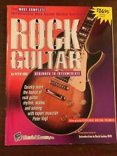 Watch & Learn Rock Guitar Book with Cd New