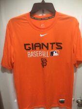 San Francisco Giants Nike Dri Fit Shirt Performance Apparel MLB Size Medium