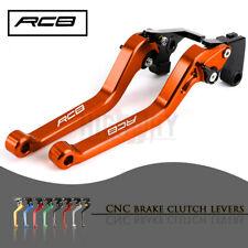 Motorbike CNC Alu Long Brake Clutch Adjustable Levers for KTM RC8 / R 2009-2016