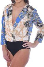 Damenblusen, - tops & -shirts mit V-Ausschnitt und Paisley Größe 42