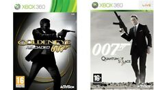 007 GOLDENEYE RELOADED & Quantum of Solace Xbox 360 Pal