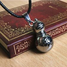 Anime Naruto Sand Hidden Village Gaara Gourd Metal Pendant Necklace Cosplay Gift