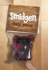 Chris Ryniak - Clear Red Smidgen Resin Figure - New in package... MINT!