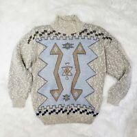 Vintage 90's Sweater Sakura Sport cotton blend size medium shoulder pads
