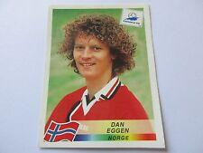 Sticker PANINI World Cup FRANCE 98 N°74 Norge Dan Eggen