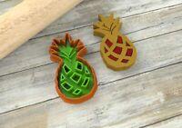 Biscotti ananas ripieni formine per biscotti cookie cutters tagliapasta