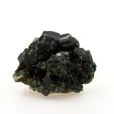 Celadonite après Apophyllite. 103.2 ct. Shakur Quarry, Maharashtra, Inde. Rare