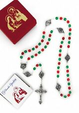 Christmas Nativity Rosary Beads - Nativity Centerpieces - Made in Italy UNIQUE