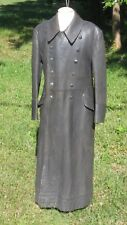 WW2 German Luftwaffe  Officers - Pilots - leather coat  sz 38 medium