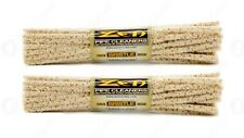2x Bundles ( Zen *Hard* Bristle Pipe Cleaners ) Absorbent Bristle 44x Per Bundle