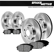 Front+Rear Brake Rotors & Metallic Pads For 2002 2003 2004 - 2007 Rendezvous FWD