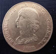 Colombia 1839 RS Gold 16 Pesos AU Bogota
